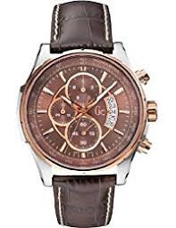 amazon co uk gc watches guess collection men s 44mm leather band steel case quartz watch x81002g4s