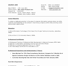 Best Resume Format Pdf Free Download