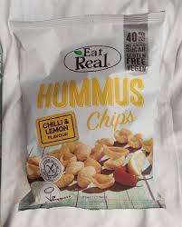 <b>чипсы</b> из нута <b>Eat Real</b> чили и лимон - калорийность, пищевая ...