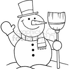 frosty the snowman clipart black and white. Delighful White Christmas Xmas Frosty Winter Snow Holidays Snowman Snowmen And Frosty The Snowman Clipart Black White H