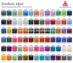 Fire Color Chart Synthetic Opal Double Flat Synthetic Opal Colors Chart For 78 Colors Buy Synthetic Opal Synthetic Fire Opal Synthetic Opal Rough Product On