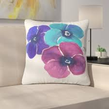 jewel tone pillows. Delighful Pillows Jewel Tone Pansies By Laura Trevey IndoorOutdoor Throw Pillow For Pillows R