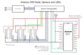 first can node leds and sensors modelrail otenko led sensors can node