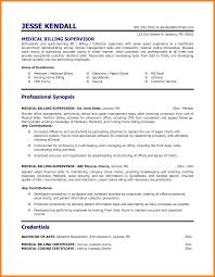 Medical Billing Resume Examples Examples Of Resumes