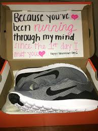 valentine s day gifts for husband sneaker message image