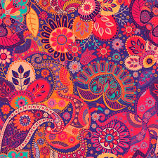 red paisley wallpaper purple wall decor wallpapers