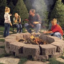 Fancy fire pit design ideas backyard home Round Fire Pit Area Ideas Flagstone Fire Ring The Family Handyman 37 Sensational Fire Pits That Will Let You Soak Up Sunsets The