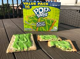 frosted green apple jolly rancher pop tarts