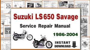 suzuki ls650 savage service repair manual 1986 2004 pdf suzuki ls650 savage service repair manual 1986 2004 pdf