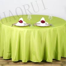 smart round tablecloths for beautiful 10pcs customize table polyester cotton fabric 108 round