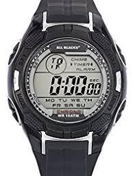 amazon co uk all blacks watches all blacks 680294 watch men quartz digital black dial black plastic strap