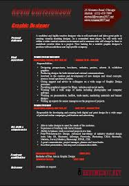 Graphic Design Resume Examples Gorgeous Graphic Designer Resume Examples 48