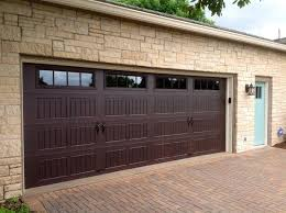 walnut garage doorsThermacore Premium Insulated Series 190490 garage doors
