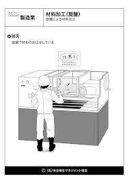 材料加工旋盤製造業危険予知訓練kyt無料イラストシート集