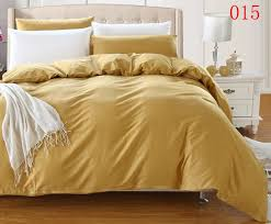 1 pcs cotton duvet cover twin full queen king bedclothes comforter cover bedding bag quilt cover home textile hotel golden solid duvet cover