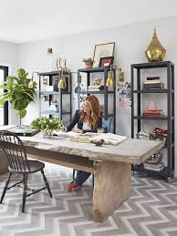 home office design ideas big. Office - Genevieve Gorder\u0027s Big Renovation On HGTV Like This Room. Large Wall Idea With A Lighter Wood Desk Between. | Design Pinterest Home Ideas M