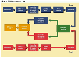 Bill To Law Chart Nylearns Org How A Bill Becomes A Law