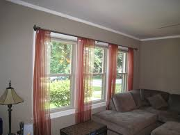 Inspirating Of 3 Window Curtain Ideas 7240 Images