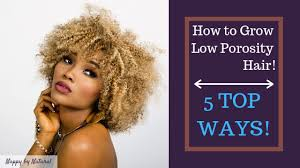how to grow low porosity hair nappy