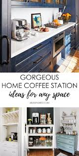 Great for movie theatre concessions areas. Gorgeous Home Coffee Station Ideas For Any Space A Blissful Nest