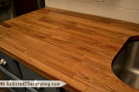 the perfect ikea numerar butcher block countertop finish