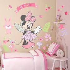 minnie mouse wall art decals sticker removable pvc mural diy girls nursery decor on girl nursery vinyl wall art with lovely minnie mouse wall stickers vinyl decals girls nursery decor