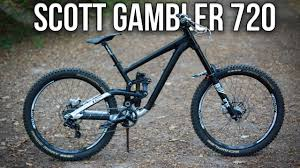presentation du monstre scott gambler 720 youtube