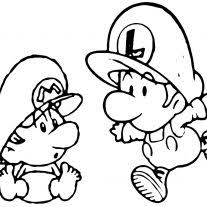 Coloring Page Super Mario Bros Coloring Pages Free Coloring Pages