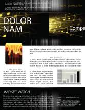 Music Newsletter Templates Music Newsletter Templates In Microsoft Word Adobe Illustrator And