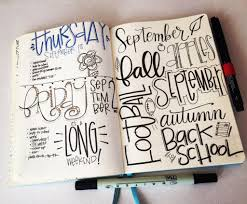 bullet journal pages 94 95