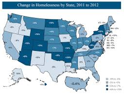 Homeless Rate In America 2013 The State Of Homelessness In America