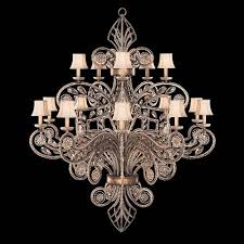 fine art lamps a midsummers nights dream 15 light chandelier in cool moonlit patina finish 2124163940st 1 2124163940st 2 2124163940st 3
