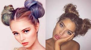 Different Bun Hairstyles Double Bun Hairstyles 2017 Childish And Flirty Hairstyles