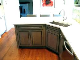 corner kitchen sink rug small unit base cabinet dimensions corner kitchen sink