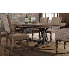 driftwood and metal dining table metropolitan rc willey furniture