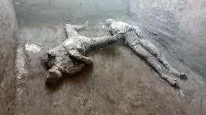 Dopo 2 mila anni scoperti i corpi di due abitanti di Pompei in fuga  dall'eruzione del Vesuvio. Riemersi con la tecnica dei calchi - La Stampa