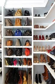 bright purse rack vogue los angeles traditional closet remodeling ideas with glass dividers for purses l shaped corner shelves for shoes purses