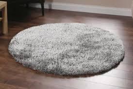oriel silver circle area rug 150cm