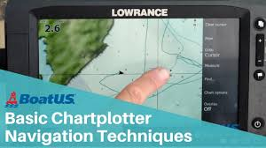 Navigation Chart Plotter Basic Navigation Skills How To Use A Charplotter Boatus