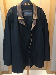 johnston murphy lambskin leather jacket men s fashion clothes outerwear on carou