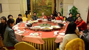 chinese round dinner table