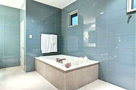 large tiles for shower walls large glass bathroom tiles large glass tile bathroom contemporary large glass