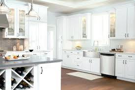 Simple White Kitchen Cabinets
