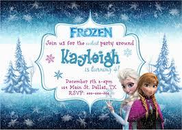 Wording For Frozen Birthday Invitations Frozen Birthday