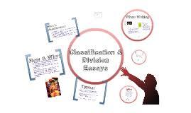 exemplification essay by samantha eaton on prezi classification essay