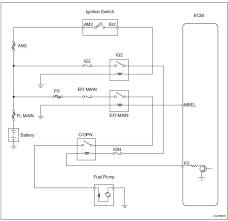 toyota rav service manual fuel pump control circuit diagnostic toyota rav4 wiring diagram