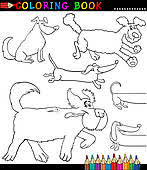 Small Picture Mongrel Clip Art Royalty Free GoGraph