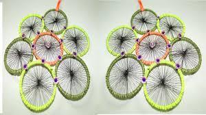 Design With Broken Bangles Broken Bangles Crafts For Wall Hanging Hand Made Crafts For House Home Handloom Craft Design