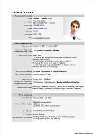 Professional Curriculum Vitae Format Free Download Resume