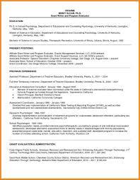 Grad School Resume Art Resume Examples
